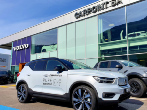 VOLVO XC 40 laterale 2