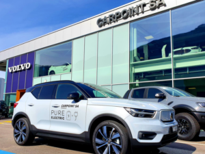 VOLVO XC 40 laterale 3