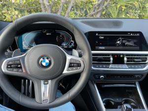 BMW 330e xDrive Daschboard 2