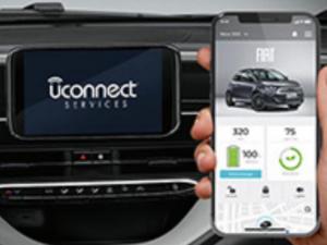 Fiat 500e B app uconnect