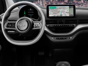 Fiat 500e Cabriolet Dashboard