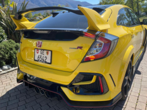 Honda Civic Type R Limited Edition Posteriore