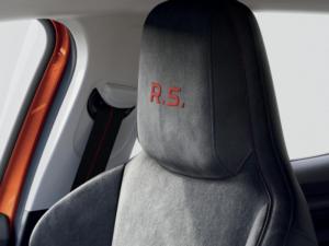 Renault Megane RS Dettaglio Sedili Anteriori