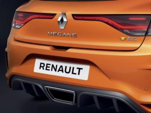 Renault Megane RS Posteriore
