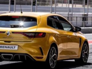 Renault Megane RS Profilo Posteriore