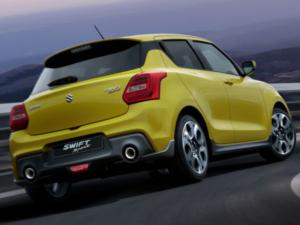 Suzuki Swift Sport 1,4 Turbo Hybrid Profilo Posteriore