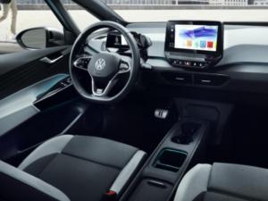 VW ID.3 dashboard