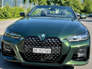 BMW 430 Profilo Anteriore