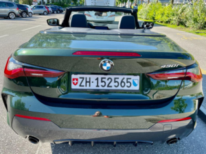 BMW 430 Profilo Posteriore