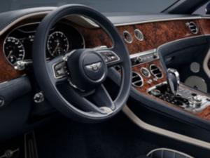 Bentley Continental Cabrio Dashboard