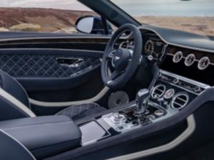 Bentley Continental Cabrio Dashborad