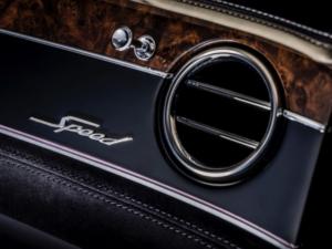 Bentley Continental Cabrio Dettaglio Interno
