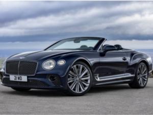 Bentley Continental Cabrio Profilo