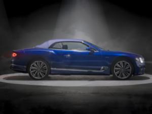 Bentley Continental Cabrio Profilo Esposizione