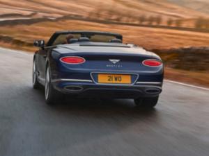 Bentley Continental Cabrio Profilo Posteriore