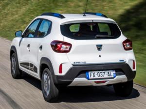 Dacia Spring Posteriore Profilo