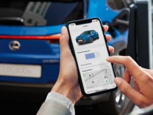 Lexus UXe App Ricarica