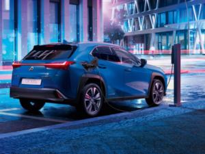 Lexus UXe Profilo Ricarica
