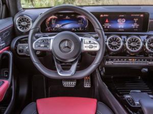 Mercedes A250e dashboard