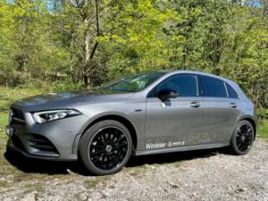 Mercedes A250e profilo