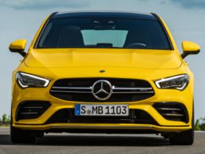 Mercedes CLA 35 AMG Shooting Brake Anteriore