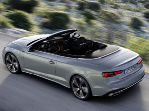 Audi A5 Cabrio 45 profilo alto
