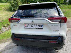 SUZUKI ACROSS Profilo posteriore