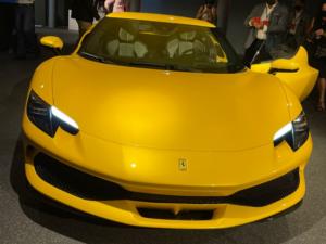 Ferrari 296 frontale