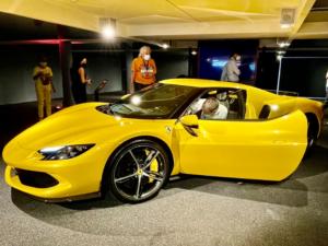 Ferrari 296 profilo