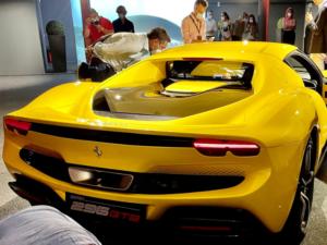 Ferrari 296 retro