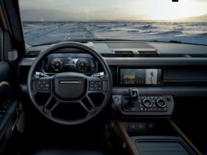 Land Rover Defender Dashboard 2