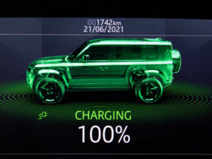 Land Rover Defender Dettaglio Ricarica