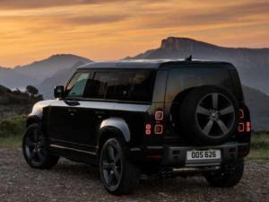 Land Rover Defender Profilo Posteriore