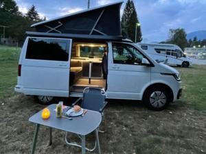 VW California campeggio b