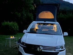 VW California profilo notte b