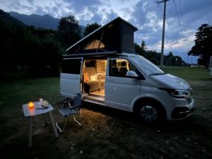 VW California profilo notte c
