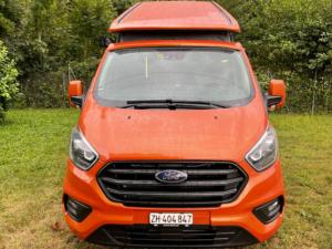 Ford Nugget Camper Dettaglio frontale