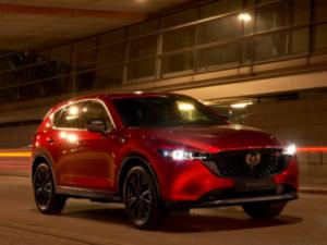 Mazda CX5 2022 Homura Profilo Anteriore