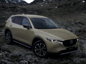 Mazda CX5 2022 Profilo Anteriore